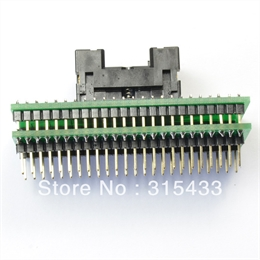 Adaptador TSOP48 to DIP48 Socket Adapter,Genuine Xeltek