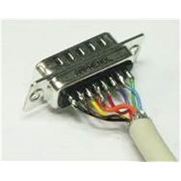 CONECTOR DB 15 SUPER VGA MACHO